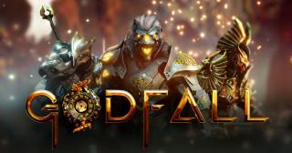 Постер Godfall